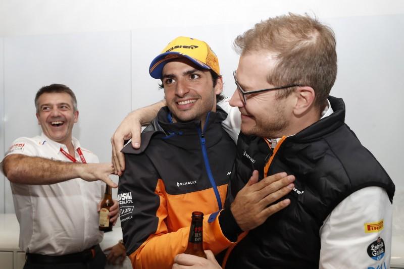 Warum Sainz' verpasstes Podium ein Geschenk für McLaren war