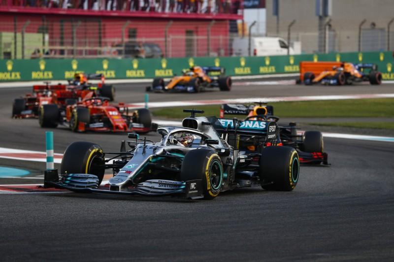 Formel 1 Abu Dhabi 2019: Lewis Hamilton gewinnt souverän