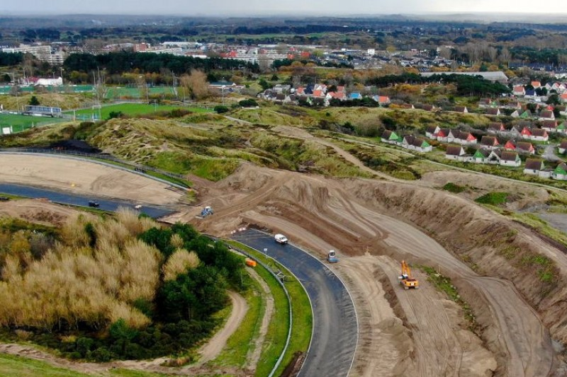 Zandvoort: Bauarbeiten an Steilkurve in vollem Gang