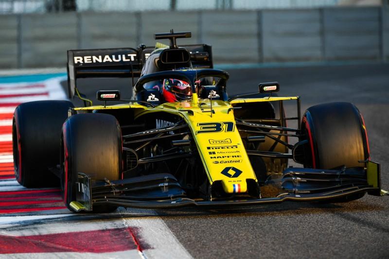 Ocons erster Tag bei Renault: Darum fühlt er sich wohler als im Mercedes