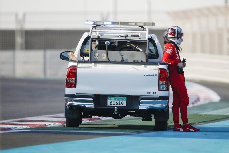 Formel-1-Test Abu Dhabi: Leclerc crasht am letzten Tag 2019