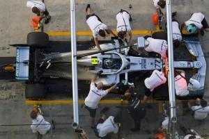 2,11 Sekunden: Schnellster Mercedes-Boxenstopp im letzten Rennen