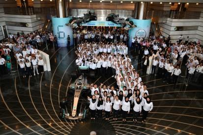Mercedes feiert WM-Triumph mit Petronas in Malaysia