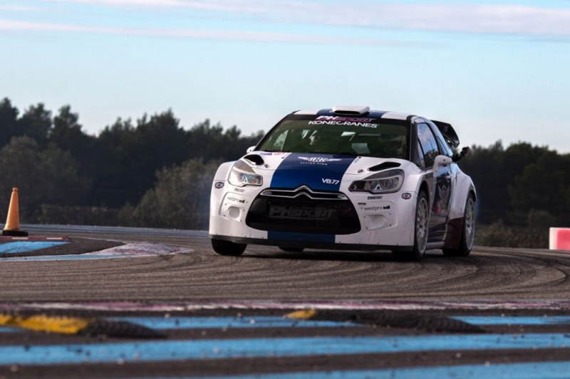 Formel-1-Pilot Valtteri Bottas siegt bei Rallye in Le Castellet
