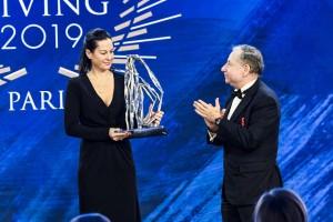 FIA-Gala in Paris: Bewegender Auftritt von Birgit Lauda