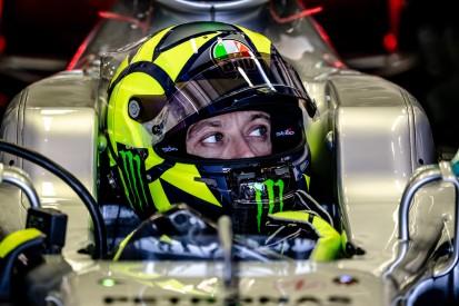 """Valentino Rossi: """"Fühlte mich für einen Tag wie ein richtiger Formel-1-Fahrer"""""""