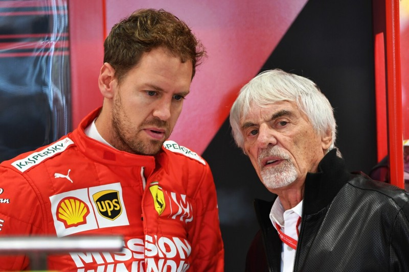 Sebastian Vettel: Ecclestone und Jordan glauben an Rücktritt Ende 2020