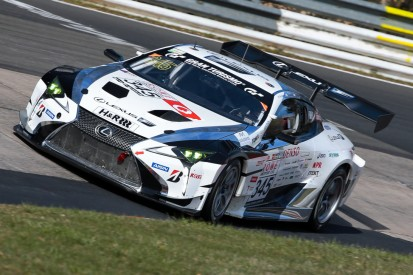 Mit neuem Motor: Lexus versucht sich wieder bei den 24h am Nürburgring
