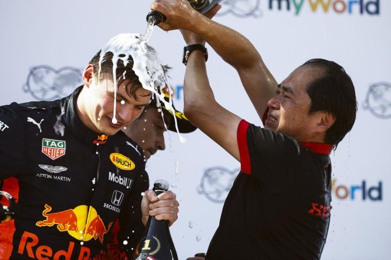 """""""Sehr professionell"""": Max Verstappen lobt Zusammenarbeit mit Honda"""