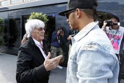 Social Media: Hamilton erhielt Unterlassungsforderung von Ecclestone