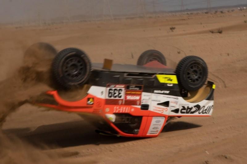 Überschlag beim Shakedown: Dakar-Aus nach Wirbelbruch für Martin Kolomy