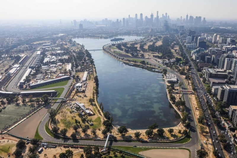 Feuer in Australien: Formel 1 beobachtet Situation in Melbourne