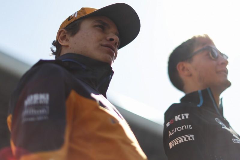 Was McLaren-Rookie Norris überrascht hat: So wenig Zeit zu Hause!