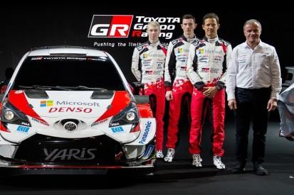 Toyota präsentiert neu formiertes WRC-Team in Tokio