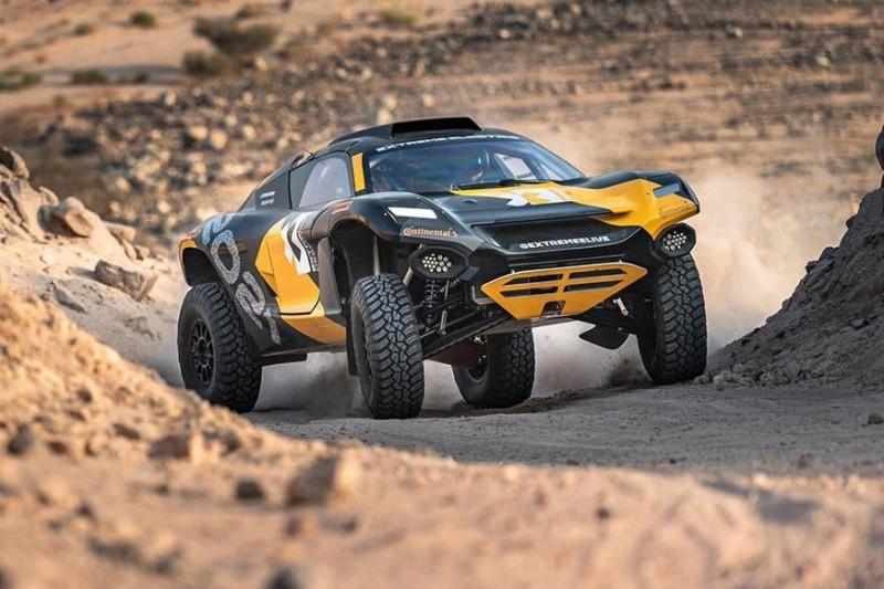 Ken Block fährt Extreme-E-Prototyp bei letzter Etappe der Rallye Dakar 2020