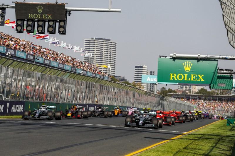 Formel 1 gibt Startzeiten für die Saison 2020 bekannt