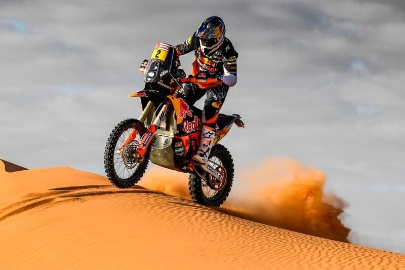 """Matthias Walkner bei Dakar-Halbzeit: """"Honda-Fahrer sind besser gefahren"""""""