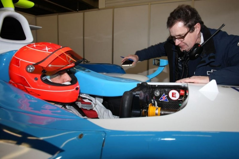 Heute vor zehn Jahren: Michael Schumacher testet GP2-Boliden