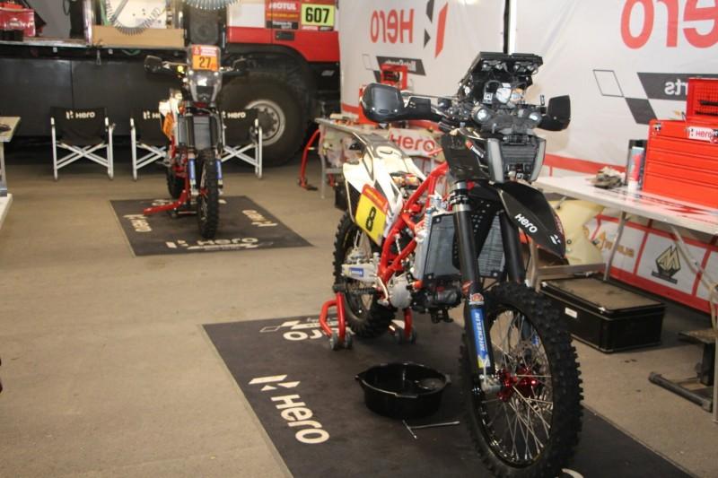 Nach Tod von Goncalves: Hero-Team fährt Rallye Dakar nicht zu Ende