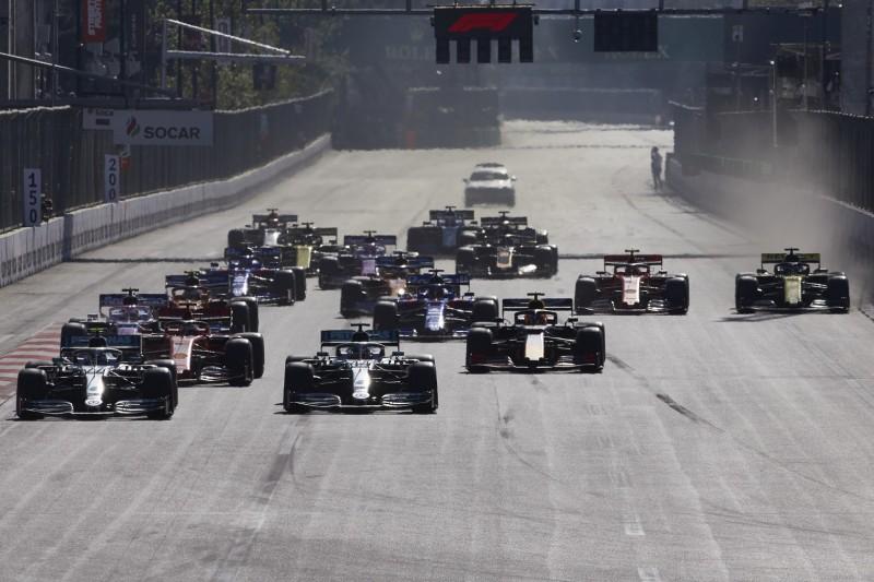 Baku: Formel-1-Rennen hat 500 Millionen US-Dollar gebracht