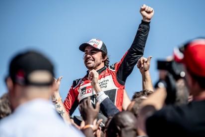 Achtmal Top 10 und Ziel erreicht: Fernando Alonso der beste Dakar-Rookie