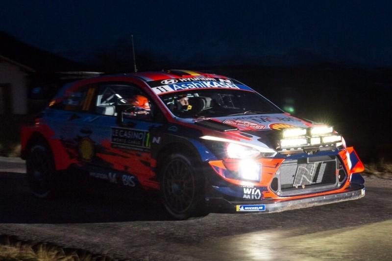 WRC Rallye Monte Carlo 2020: Husarenritt von Thierry Neuville