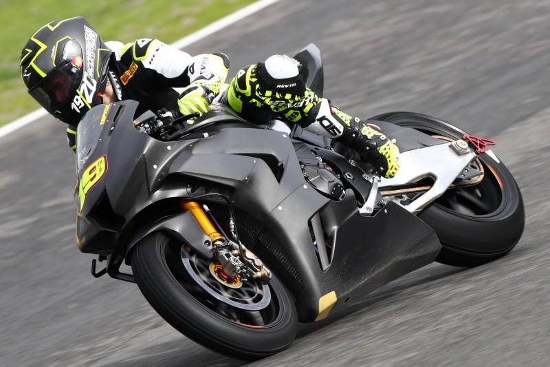 Neue Honda Fireblade: Leon Haslam in Jerez schneller als Alvaro Bautista