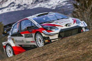 WRC Rallye Monte Carlo 2020: Toyota-Doppelführung am Freitag