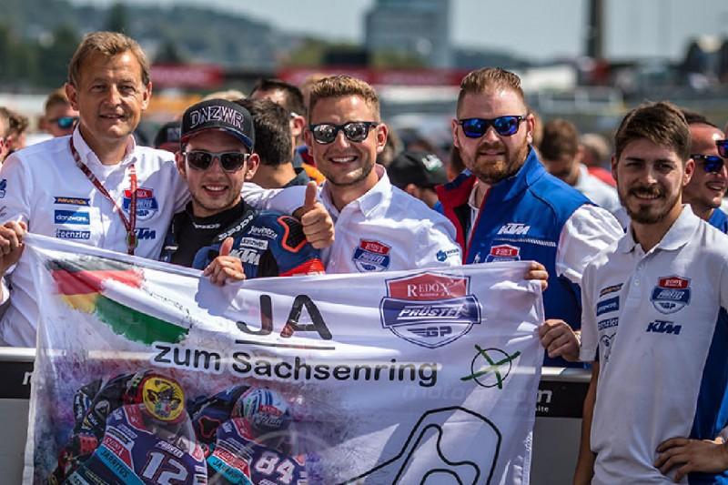 Moto3-Team PrüstelGP mit öffentlicher Teampräsentation am Sachsenring