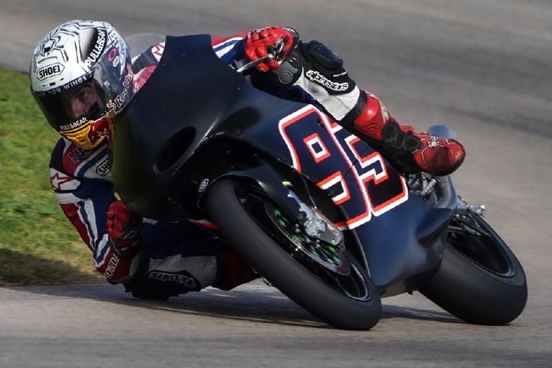 Test mit Moto3-Maschine: Marc Marquez sorgt sich weiter um seine Schulter