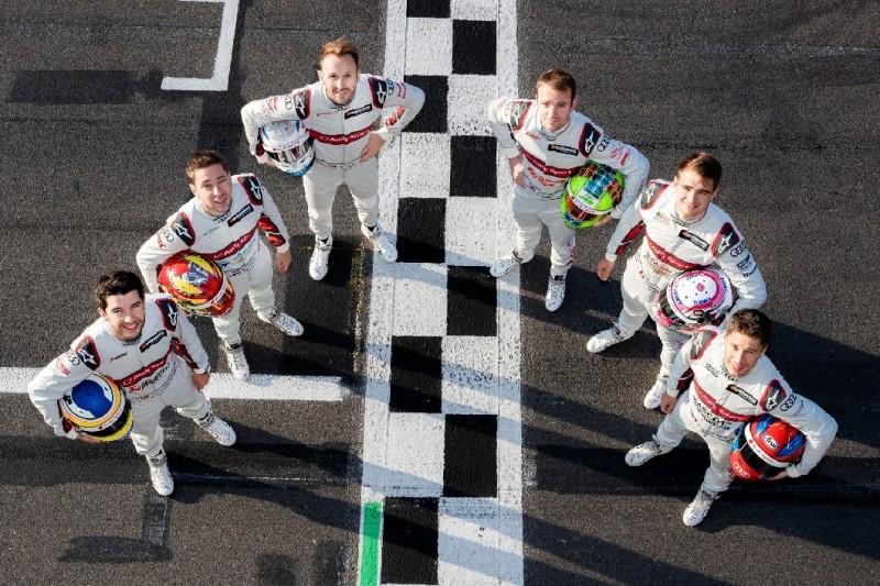 Keine Spur von Aberdein: Audi präsentiert Fahrer