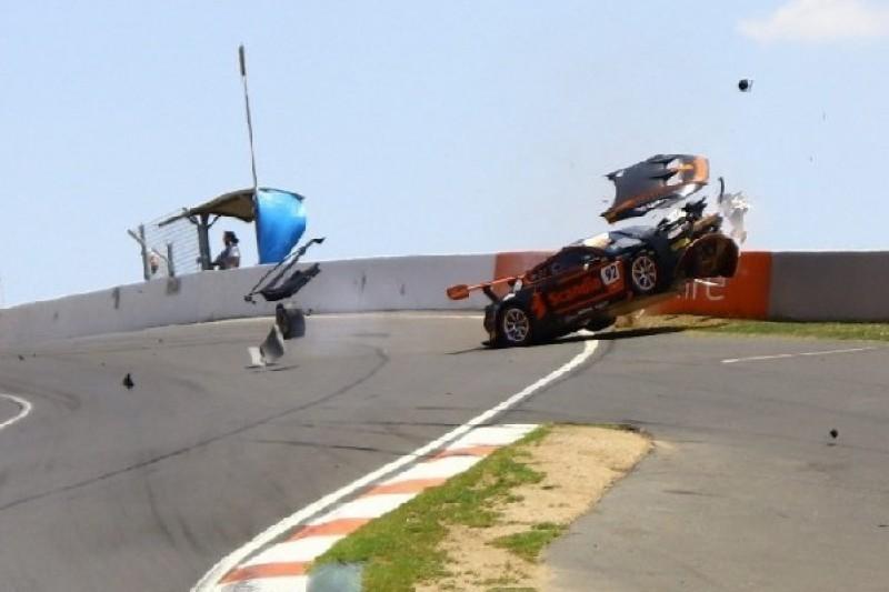 Chaos-Samstag in Bathurst: Vier weitere Autos zerstört