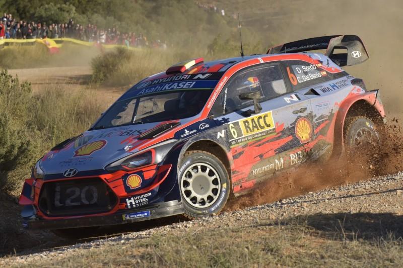 Test auf Schotter: Hyundai bestreitet nationale Rallye in Portugal