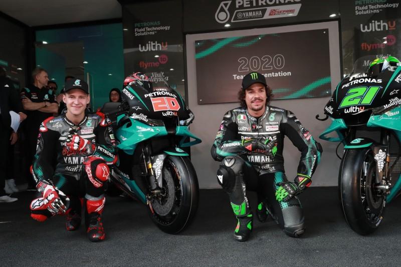 Petronas-Yamaha zeigt neue M1 für die MotoGP-Saison 2020