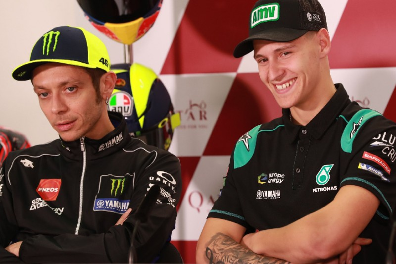 """Rossi hatte Quartararo """"seit Oktober"""" als Nachfolger bei Yamaha im Kopf"""