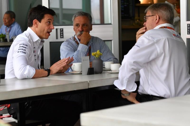 Sportchef Brawn: Keine Anzeichen für Mercedes-Ausstieg