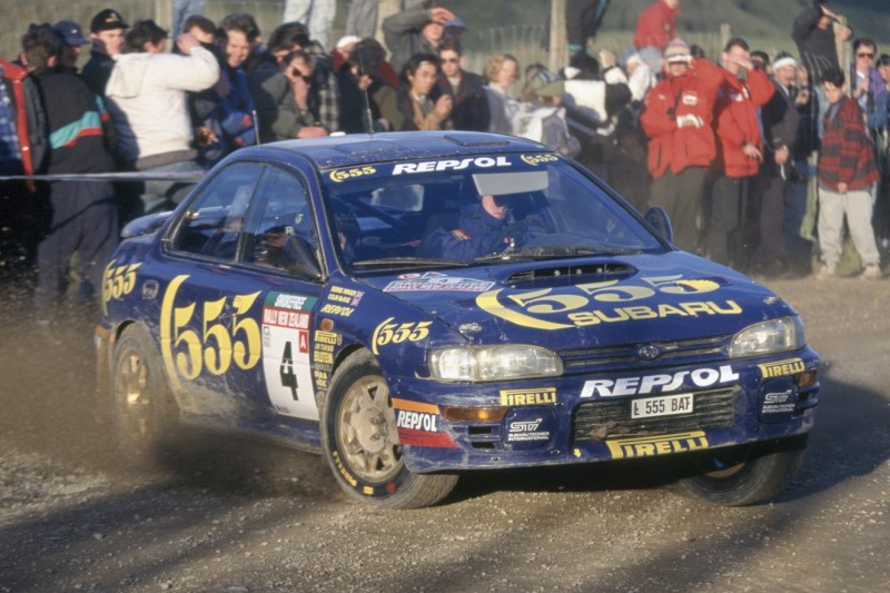 Emotionale Wiedervereinigung: Jimmy McRae fährt Colins Subaru