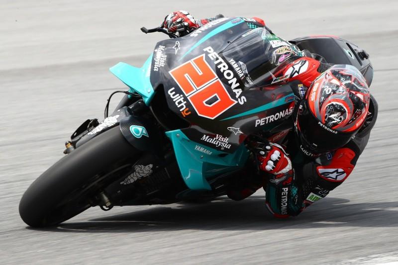MotoGP-Test Sepang: Fabio Quartararo beginnt mit Bestzeit