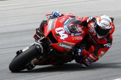 Rückstand am ersten Testtag: Ducati-Fahrer kämpfen mit neuem Hinterreifen