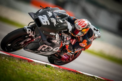 KTM: Testfahrer Dani Pedrosa lässt mit weichem Hinterreifen aufhorchen