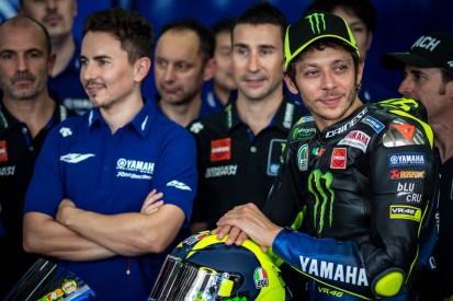 Jorge Lorenzo vs. Valentino Rossi: Freundschaft statt Rivalität bei Yamaha?