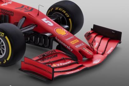 Frontflügel von 2019: Ferrari bleibt bei Vorgänger-Konzept
