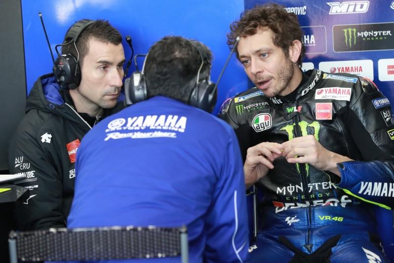 """Valentino Rossi lobt neuen Crew-Chief: """"Wir arbeiten gut zusammen"""""""