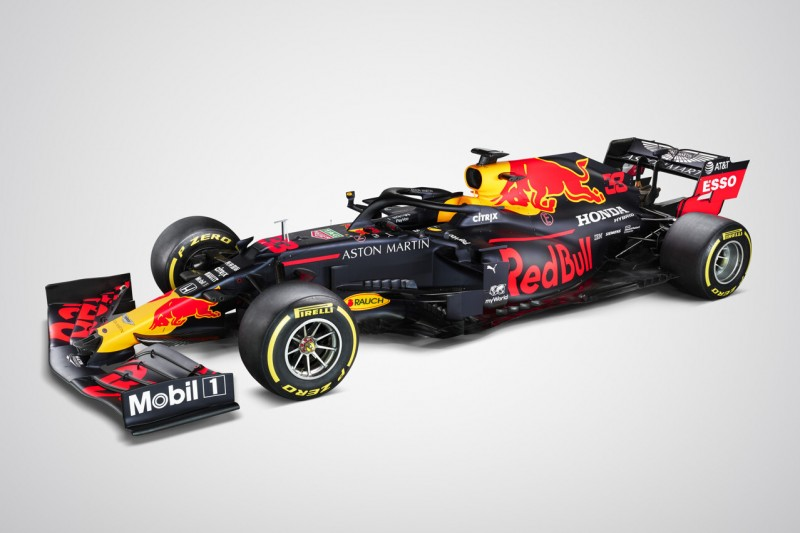Red-Bull-Präsentation 2020: Neues Formel-1-Auto RB16 enthüllt!