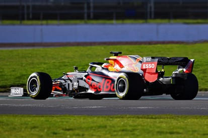 Erste Runden im Red Bull RB16: Verstappen-Shakedown in Silverstone
