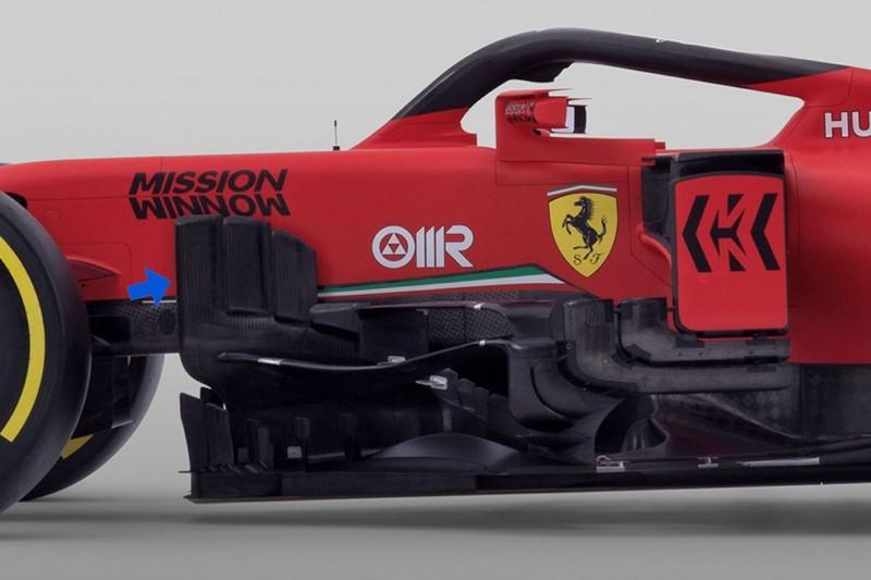Analyse: Die zehn wichtigsten Neuerungen am Ferrari SF1000