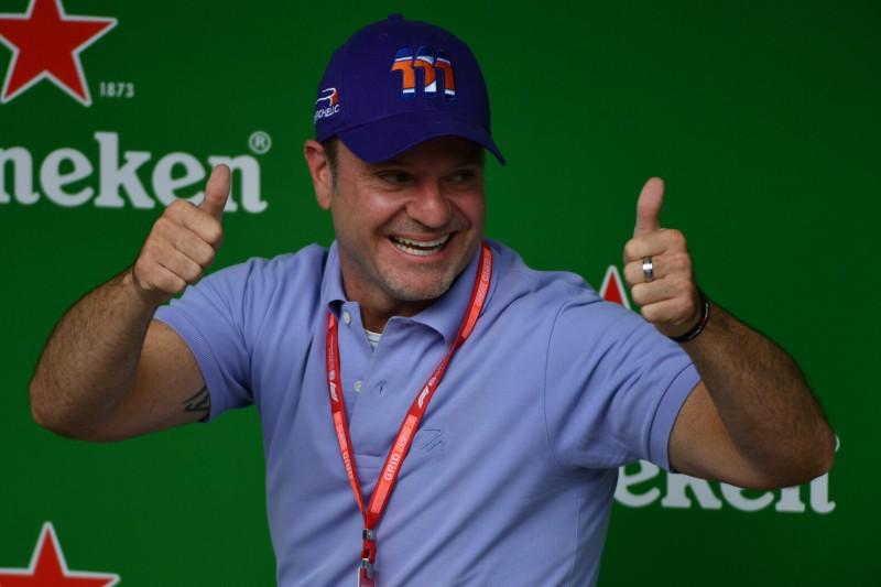 Formel-1-Routinier Rubens Barrichello in Melbourne zurück im Einsatz