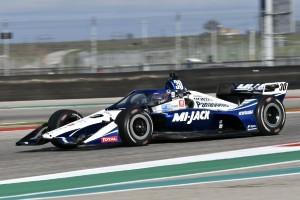 IndyCar-Test: Aeroscreen-Probleme noch immer nicht gelöst