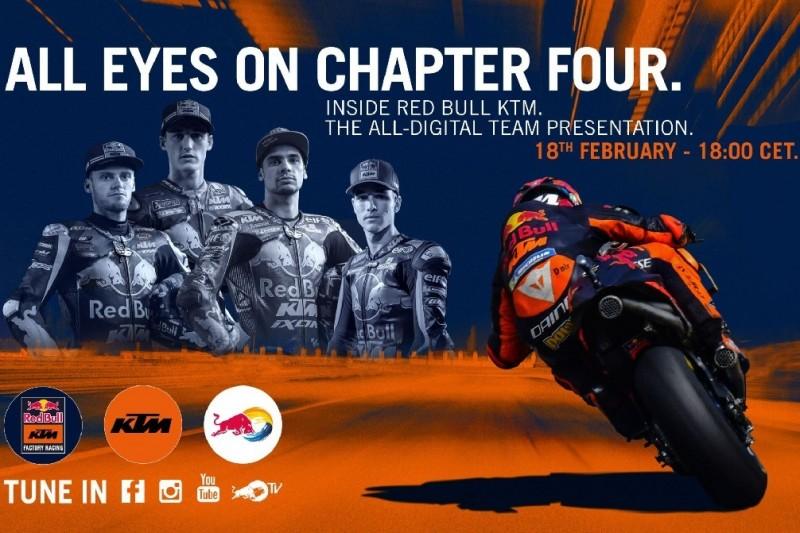 MotoGP-Präsentation 2020: KTM zeigt neue Farben im Doppelpack online