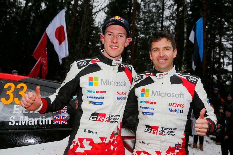 Toyotas WRC-Ansage 2020: Evans darf Weltmeister werden